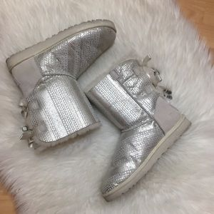 UGG Limited Edition Bailey Bow Fur Winter Boots
